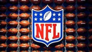 NFL footballs.